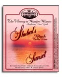 Shubal's Sunset label